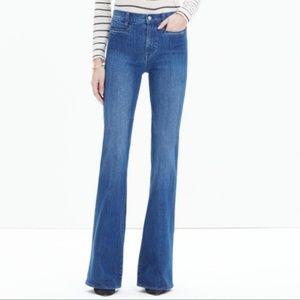 Madewell Flea Market Flare Wide Leg Flare Jeans 26